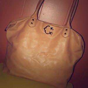 C. Wonder Tan Genuine Leather Tote Bag
